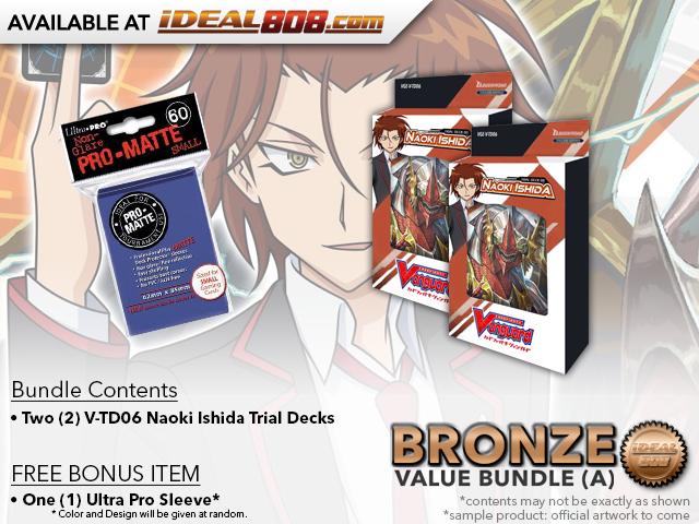 CFV-V-TD06  BUNDLE (A) Bronze - Get x2 Naoki Ishida Trial Decks + FREE Bonus Items * PRE-ORDER Ships Feb.08