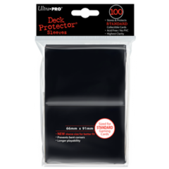 Ultra Pro Large Sleeves 100ct. - Black (#82691)
