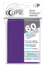 Ultra Pro Matte Eclipse Small Sleeves 60ct - Royal Purple [#85832]