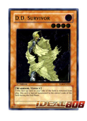 D.D. Survivor - TLM-EN023 - Ultimate Rare - Unlimited Edition