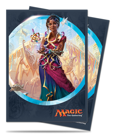 Magic the Gathering Kaladesh Saheeli Rai Ultra Pro Sleeve 80ct. (#86412)