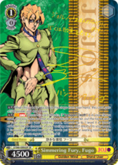 Simmering Fury, Fugo [JJ/S66-E006SP SP (SIGNED FOIL)] English