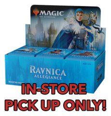 Ravnica Allegiance (RNA) Booster Box [Buy-A-Box Promo included (In-Store Pickup Only)] * Available Jan.19 (Prerelease) * Limit 4