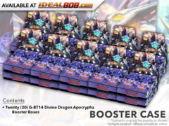 CFV-G-BT14 Divine Dragon Apocrypha (English) Cardfight Vanguard G-Booster  Case [20 Boxes] * PRE-ORDER Ships Mar.9