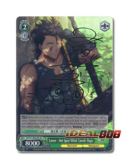 Lancer - Red Spear Which Cancels Magic [FZ/S17-E037SP SP (SIGNED FOIL)] English