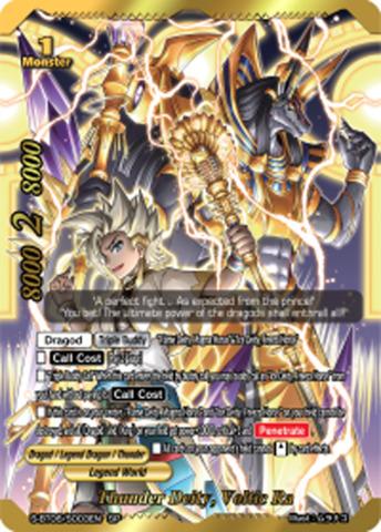 Thunder Deity, Voltic Ra [S-BT06/S003EN SP (GOLD FOIL)] English