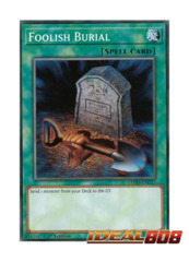 Foolish Burial - LEHD-ENC17 - Common - 1st Edition