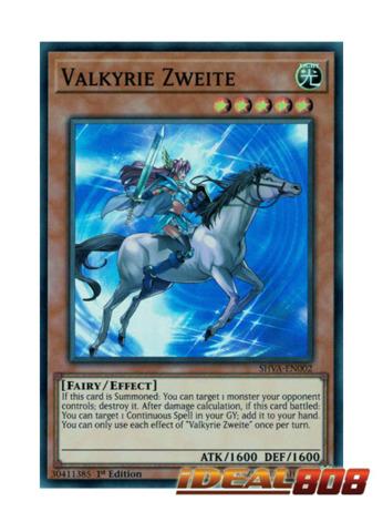 Valkyrie Zweite - SHVA-EN002 - Super Rare - 1st Edition