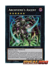 Archfiend's Ascent - FIGA-EN033 - Secret Rare - 1st Edition