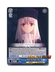 Warning Before the Battle, Illya [FS/S34-E087 C] English Common
