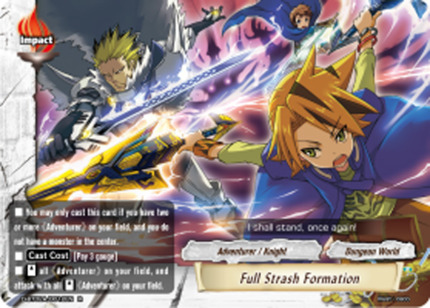Full Strash Formation [D-BT02A/0012EN R (FOIL)] English
