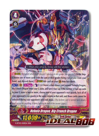 Nebula Dragon, Big Crunch Dragon - G-BT03/009EN - RRR