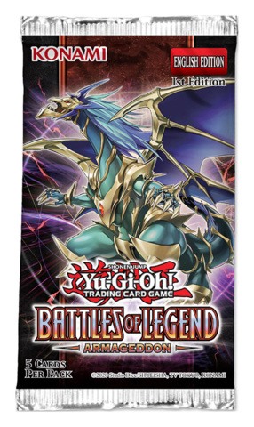 Battles of Legend: Armageddon (1st Edition) Booster Pack [5 Cards]