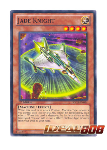 Jade Knight - SDCR-EN014 - Common - 1st Edition