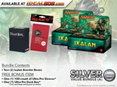 MTGXLN Bundle (A) Silver - Get x2 Ixalan Booster Box + FREE Bonus Items