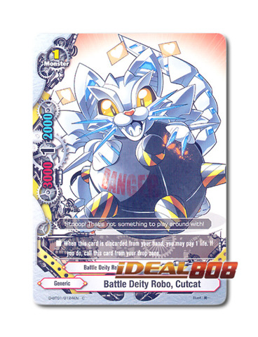 Battle Deity Robo, Cutcat [D-BT01/0124EN C] English