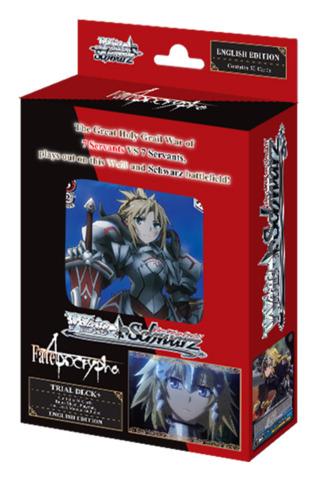 Fate/Apocrypha (English) Weiss Schwarz Trial Deck+ (Plus
