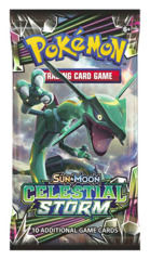 SM Sun & Moon - Celestial Storm (SM07) Pokemon Booster Pack