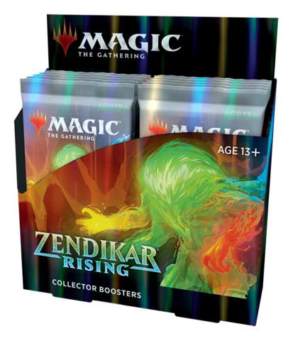 Zendikar Rising Collector Booster Box [12 Packs] * PRE-ORDER Ships Sep.25