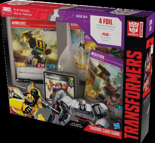 Bumblebee vs Megatron (English) Transformers TCG Starter Deck