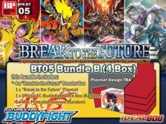 FC-Buddyfight BT05 Bundle (B) - Get x4 Break to the Future Booster Box + FREE Bonus (Playmat & Deck Box)