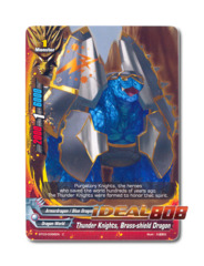 Thunder Knights, Brass-shield Dragon - BT03/0086EN (C) Common