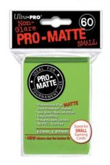 Ultra Pro Matte Non-Glare Small Sleeves 60ct - Light Green (#84272)
