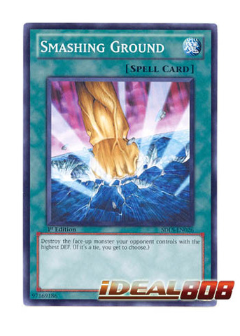 Smashing Ground - SDLS-EN026 - Common - 1st Edition