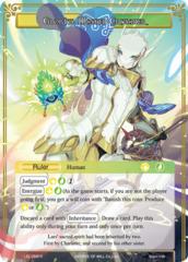 Faria, Ruler of Divine Beasts // Glorius, Masked Crusader [LEL-058 R (Textured Foil Ruler)] English