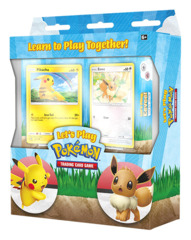 Learn to Play Together! Let's Play Pokemon Deck Set - Pikachu & Eevee