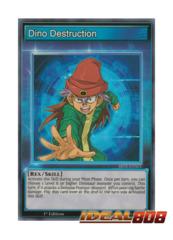 Dino Destruction - SBTK-ENS03 - Super Rare - 1st Edition