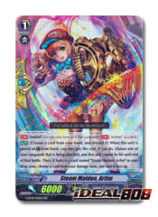 Steam Maiden, Arlim - G-BT01/021EN - RR