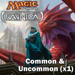 Return to Ravnica (RTR) Complete Set of Commons/Uncommons x 1