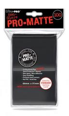 Ultra Pro 100ct Pro-Matte Large Sleeves - Black (#84515)