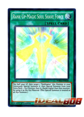 Rank-Up-Magic Soul Shave Force - WIRA-EN028 - Super Rare - 1st Edition