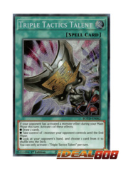 Triple Tactics Talent - ROTD-EN062 - Secret Rare - 1st Edition