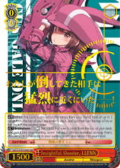 Insightful Shooter, LLENN [GGO/S59-E035GGR GGR (Gun Gale SIGNED FOIL)] English