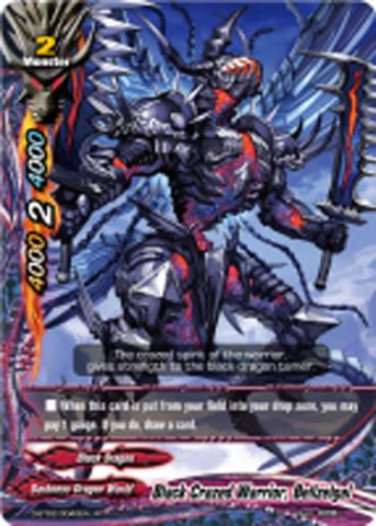 Black Crazed Warrior, Bellzelgal [D-BT02/0040EN R (FOIL)] English