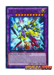 A-to-Z-Dragon Buster Cannon - SDKS-EN040 - Ultra Rare - 1st Edition