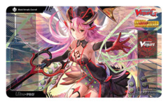 Cardfight Vanguard Playmat - G-BT07 [Black Seraph, Gavrail] Glorious Bravery of Radiant Sword