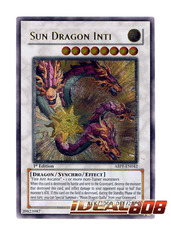 Sun Dragon Inti - ABPF-EN042 - Ultimate Rare - 1st Edition