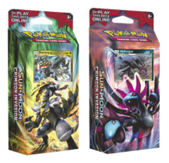SM Sun & Moon - Crimson Invasion (SM04) Pokemon Theme Deck Set - Kommo-o & Hydreigon