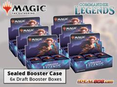 Commander Legends Draft Booster  Case [6 Boxes] * PRE-ORDER Ships Nov.06