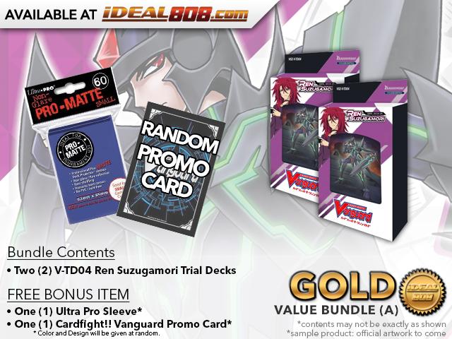 CFV-V-TD04  BUNDLE (A) Bronze - Get x2 Ren Suzugamori Trial Decks + FREE Bonus Items
