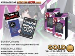 CFV-V-TD04  BUNDLE (A) Bronze - Get x2 Ren Suzugamori Trial Decks + FREE Bonus Items