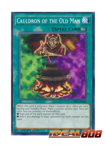 Cauldron of the Old Man 1st Edition - Common CHIM-EN064