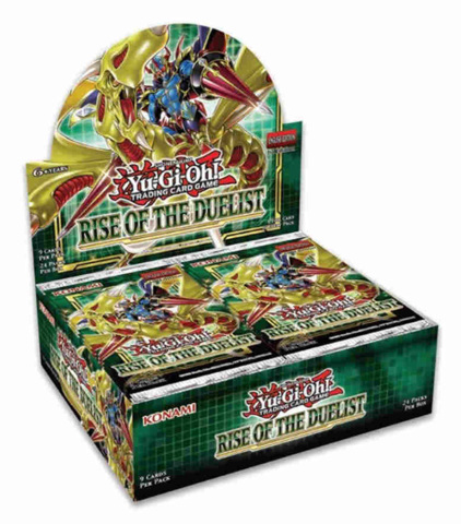 Rise of the Duelist (1st Edition) Yugioh Booster Box [24 Packs]