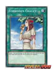 Forbidden Chalice - LEHD-ENB16 - Common - 1st Edition