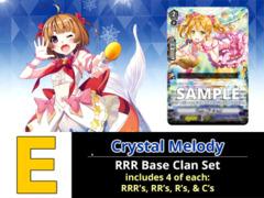 # Crystal Melody [V-EB11 ID (E)] RRR Bermuda Triangle Base Set [4 of each RRR's, RR's, R's, & C's (176 Cards)]