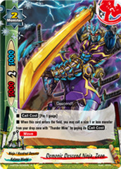 Demonic Descend Ninja, Zeon - H-BT02/0032EN - R